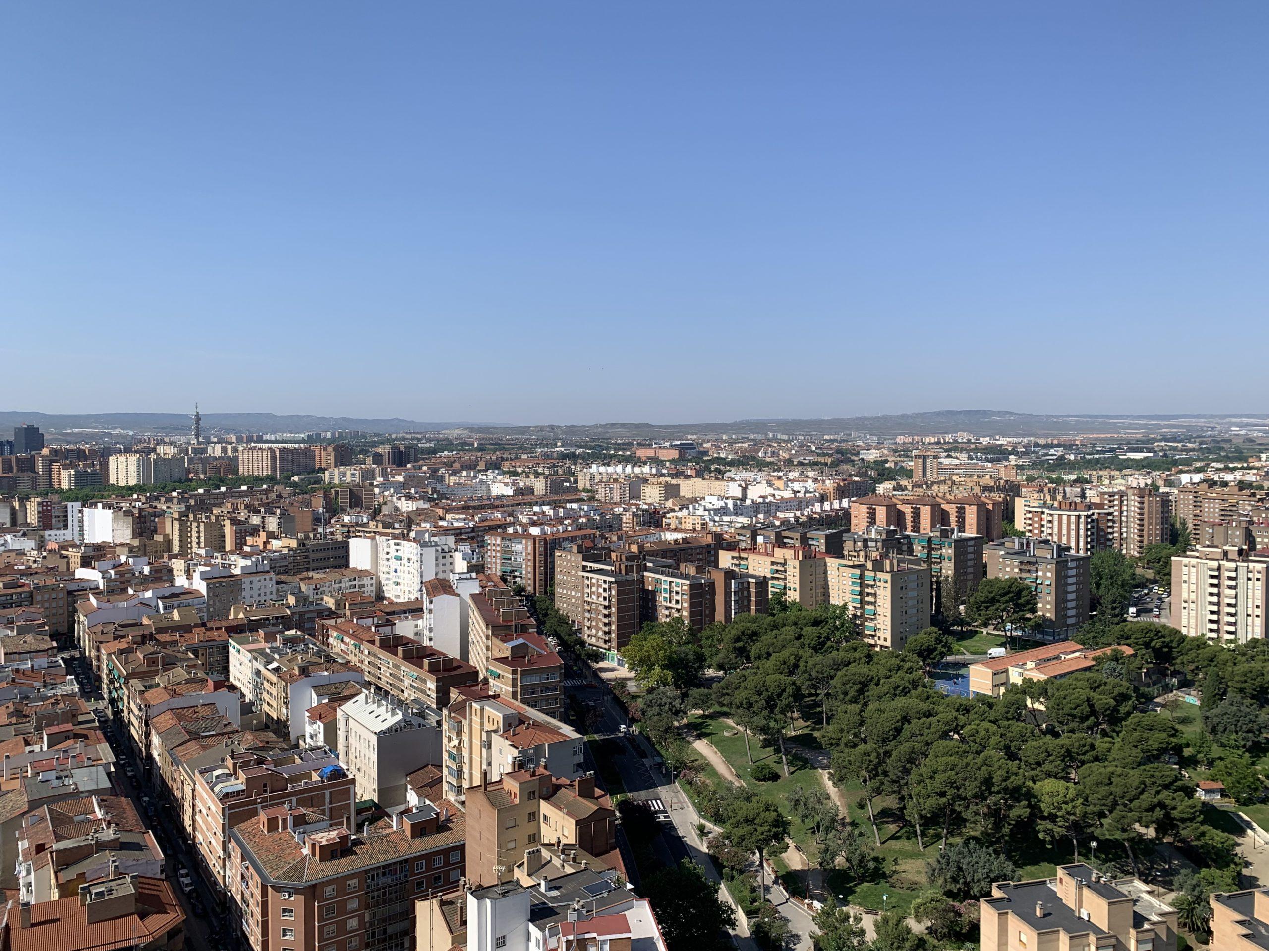 Vistas Torre Zaragoza